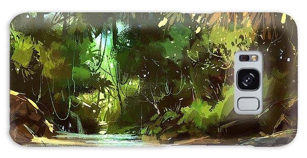 Cascades In Forest Galaxy Case