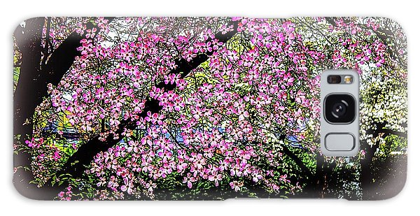 Cascading Dogwood Copyright Mary Lee Parker 17, Galaxy Case by MaryLee Parker
