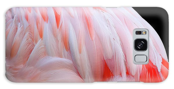 Cascading Feathers Galaxy Case