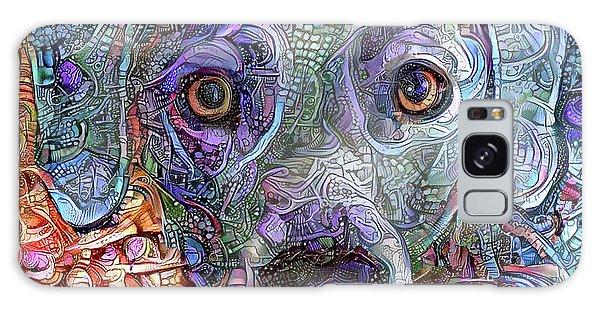 Cash The Blue Lacy Dog Closeup Galaxy Case