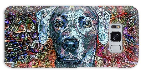 Cash The Blue Lacy Dog Galaxy Case