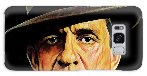 Cash With Hat Galaxy Case by Gary Grayson