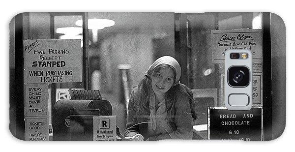 Cashier, Devon Theatre, 1979 Galaxy Case