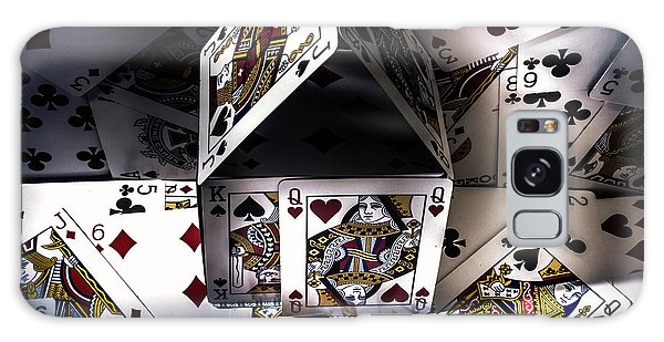 Gamble Galaxy Case - Casino House by Jorgo Photography - Wall Art Gallery