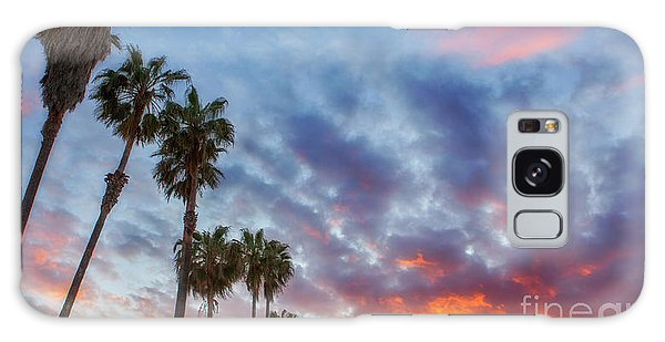 Casitas Palms Galaxy Case by John A Rodriguez