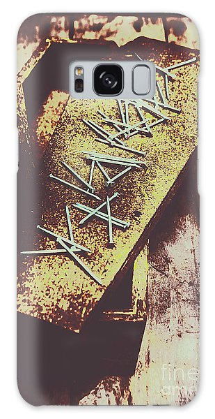 Metal Galaxy Case - Casket Closing by Jorgo Photography - Wall Art Gallery