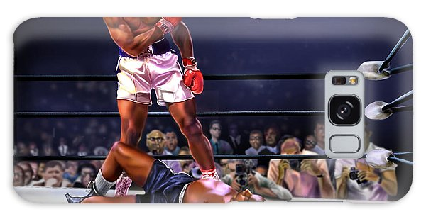 Cassius Clay Vs Sonny Liston Galaxy Case
