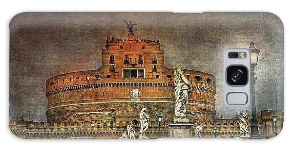 Galaxy Case featuring the photograph Castel Sant Angelo Fine Art by Hanny Heim