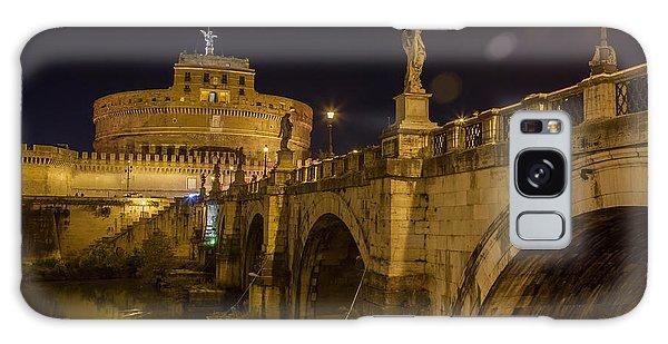 Castel Sant'angelo Galaxy Case by Ed Cilley