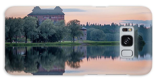 Castle After The Sunset Galaxy Case