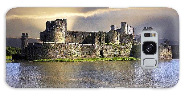 Castle At Dawn Galaxy Case