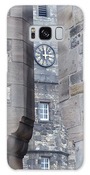 Castle Clock Through Walls Galaxy Case