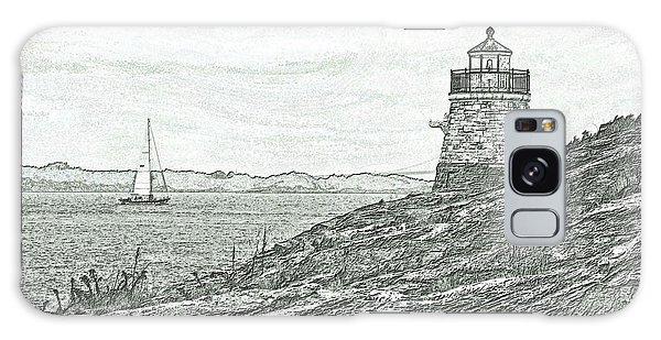 Castle Hill Lighthouse Galaxy Case