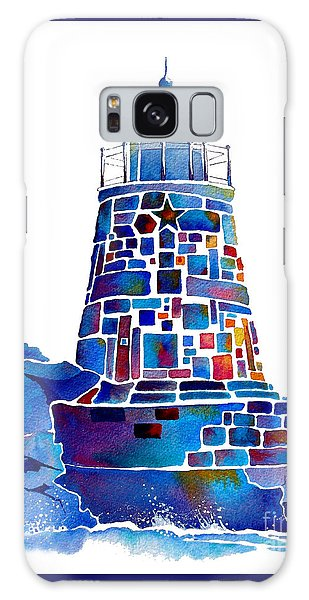 Castle Hill Newport Lighthouse Galaxy Case
