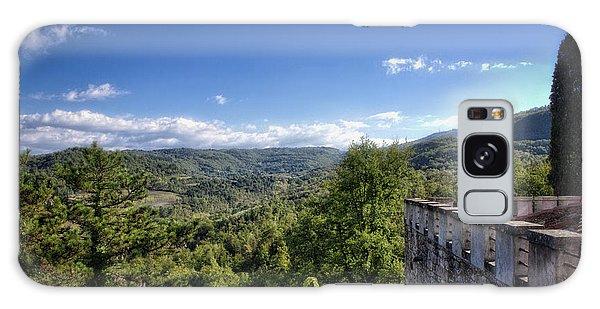 Castle In Chianti, Italy Galaxy Case