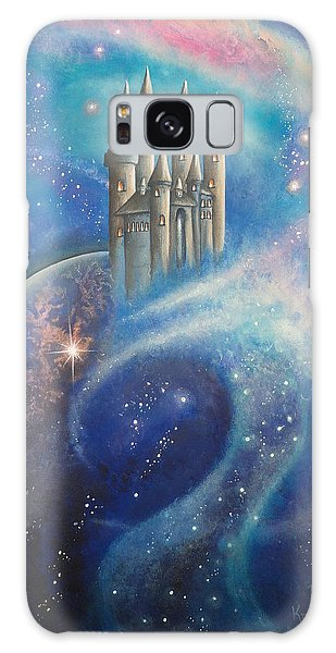 Castle In The Stars Galaxy Case
