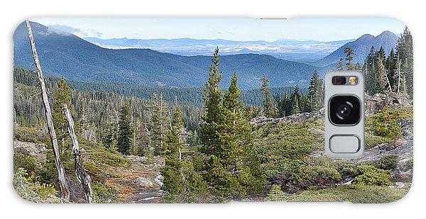 Castle Lake Trail Galaxy Case