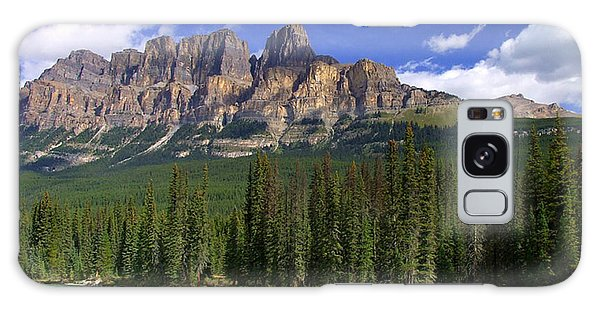 Castle Mountain Banff The Canadian Rockies Galaxy Case