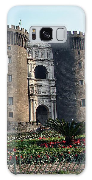 Castle Nuovo Naples Italy Galaxy Case