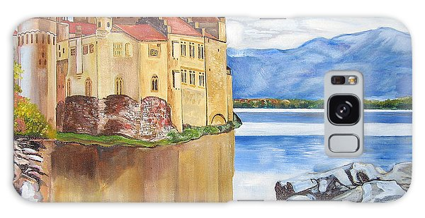 Castle Of Chillon Galaxy Case by John Keaton