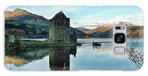 Castle On The Loch Galaxy Case