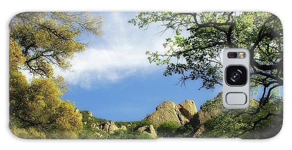 Castle Rock Galaxy Case by Donna Blackhall