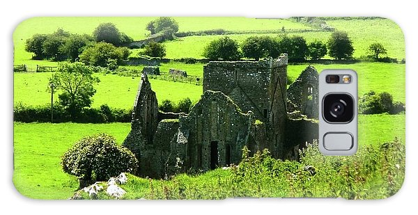 Castle Ruins Countryside Galaxy Case