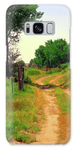 Castledale Farm Road Galaxy Case