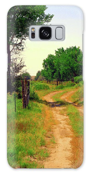 Castledale Farm Road Galaxy Case