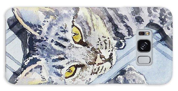 Calico Cat Galaxy Case - Cat Alert  by Irina Sztukowski