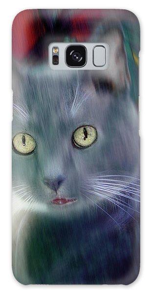 Cat Boticas Portrait 2 Galaxy Case