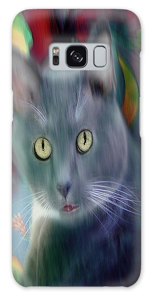 Cat Boticas Portrait 3 Galaxy Case