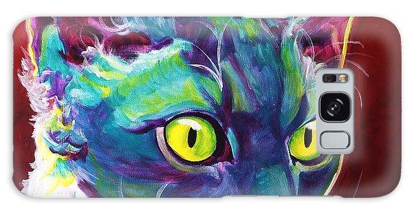 Cat - Devon Rex Galaxy Case
