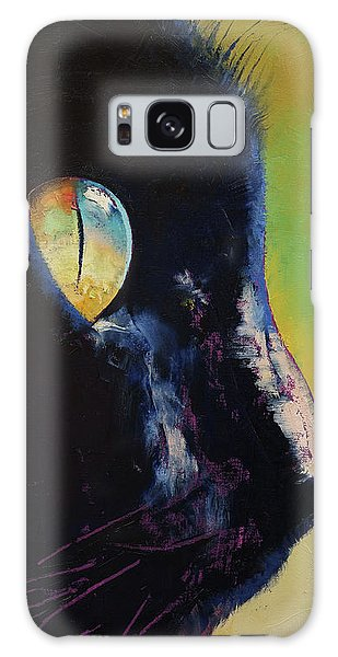 Panther Galaxy S8 Case - Cat Eye by Michael Creese