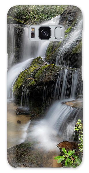 Cat Gap Loop Trail Waterfall Galaxy Case