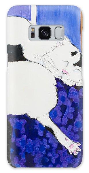 Cat IIi Peaceful   Galaxy Case by Leela Payne