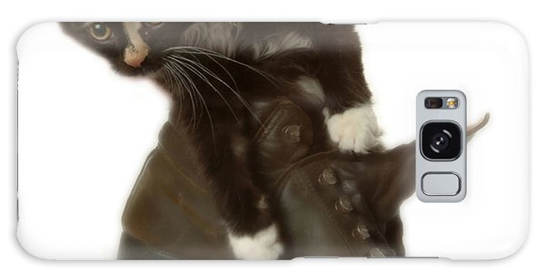 Cat In Boot Galaxy Case