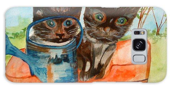Cat Mischief Galaxy Case