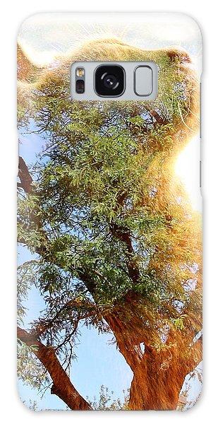 Cat Or Tree Galaxy Case