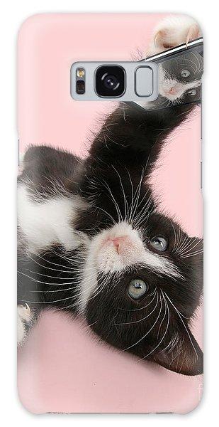 Cat Selfie Galaxy Case