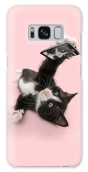 Cat Selfie Galaxy Case