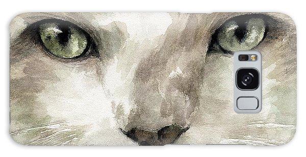 Galaxy Case - Cat Specific Disdain by Rachel Christine Nowicki