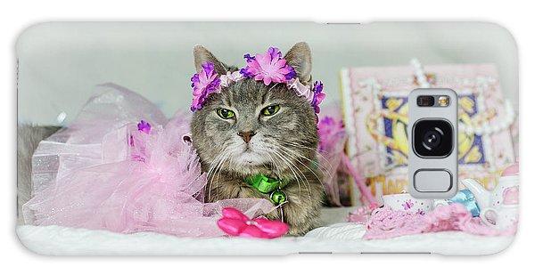 Cat Tea Party Galaxy Case