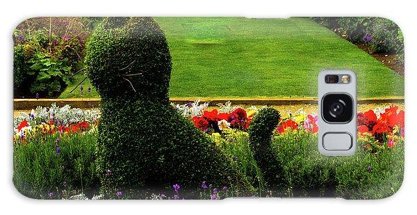Cat Topiary Belfast Galaxy Case