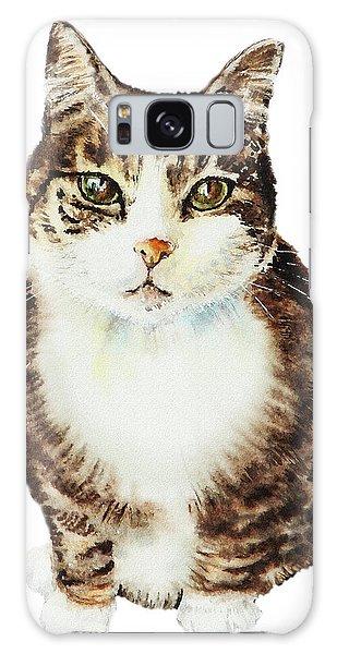Calico Cat Galaxy Case - Cat Watercolor Illustration by Irina Sztukowski