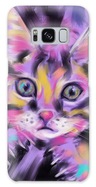 Cat Wild Thing Galaxy Case