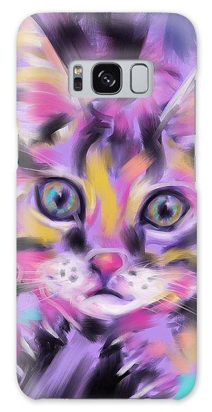 Cat Wild Thing Galaxy Case
