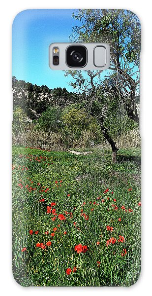 Catalan Countryside In Spring Galaxy Case