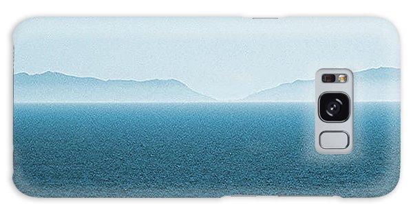 Catalina Island Large Panoramic Color Fine Art Print On Metal Galaxy Case by Ben and Raisa Gertsberg