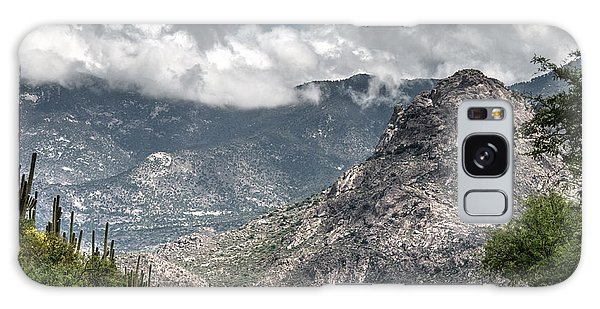 Catalina Mountains Galaxy Case